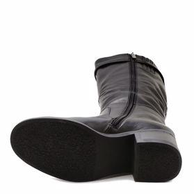 Сапоги зимние на каблуке - Фото №5