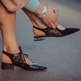 Босоножки на каблуке - Фото №6