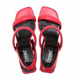 Босоножки на каблуке - Фото №4