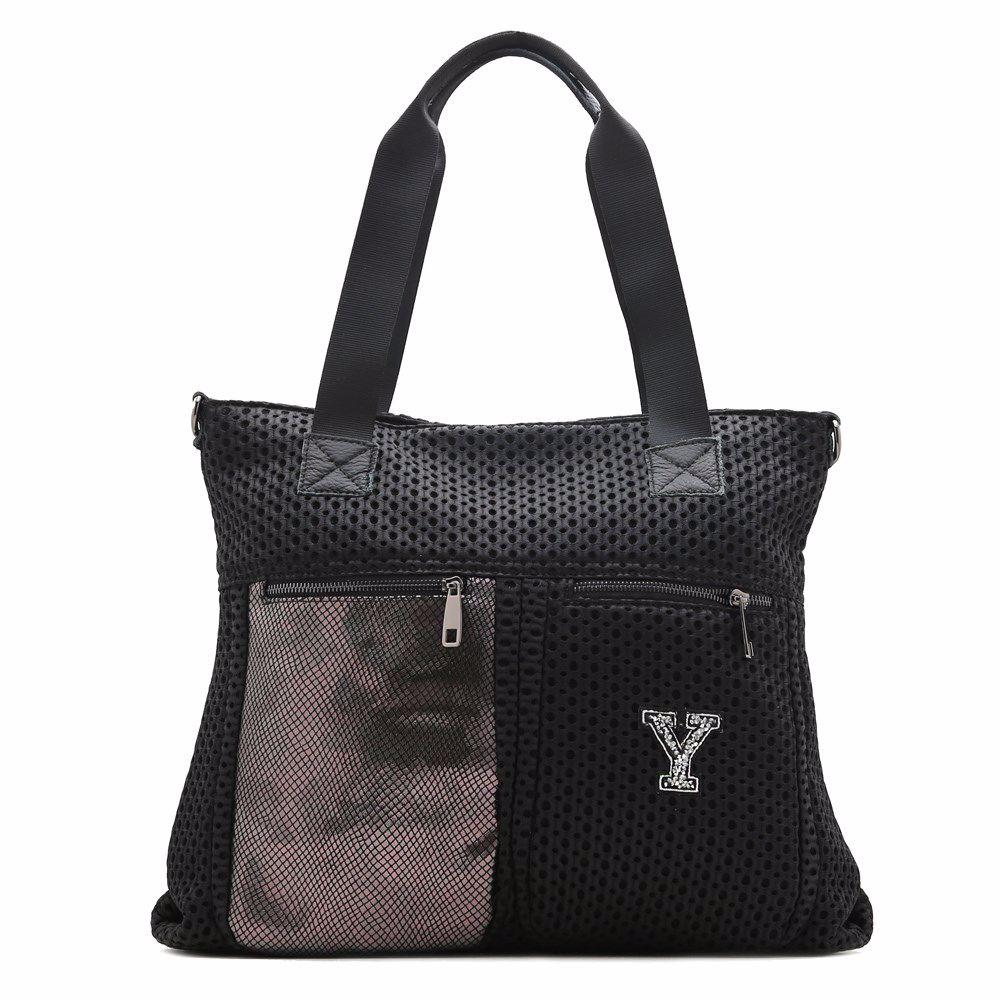022345 Сумка для подорожей Balina, чорна, текстиль