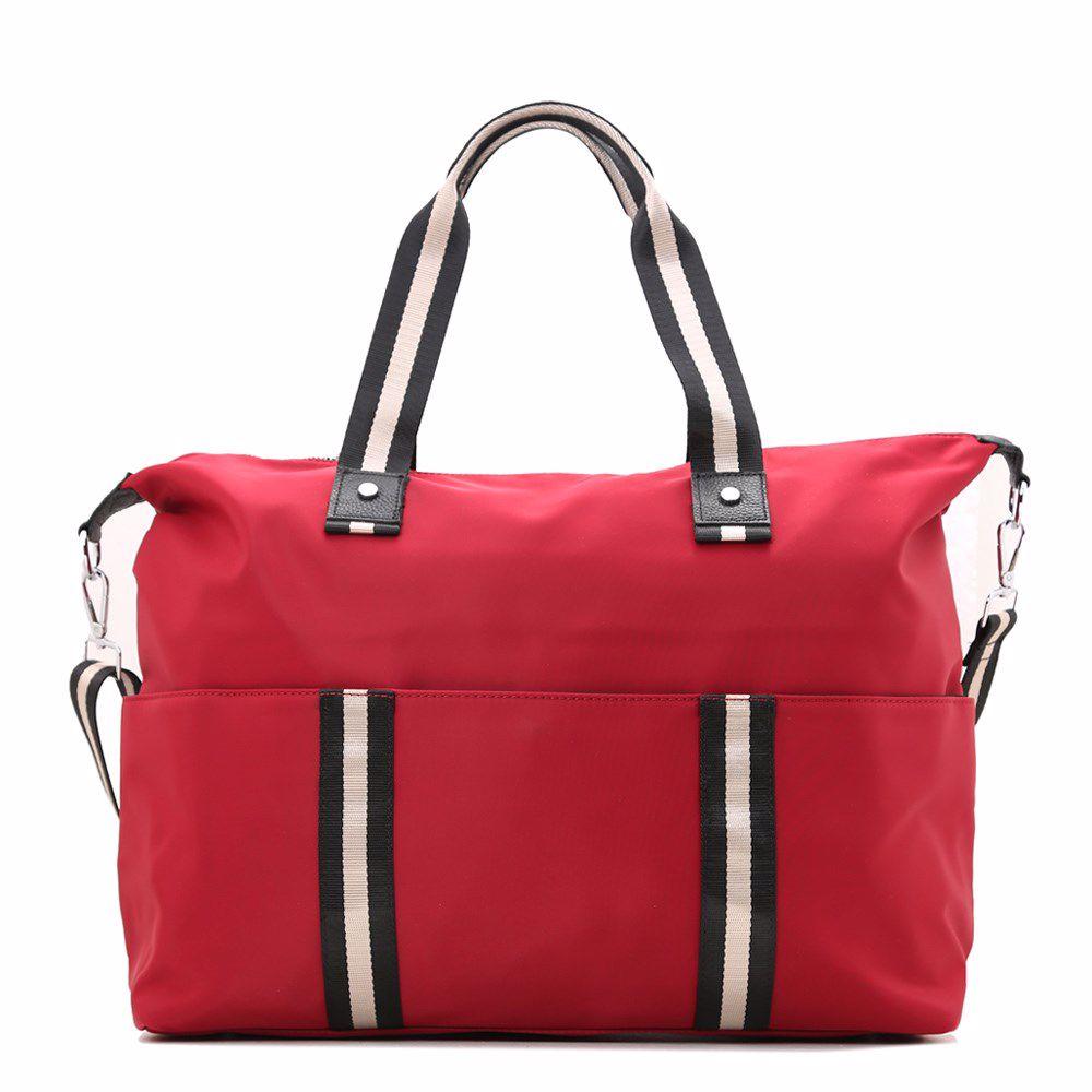 019981 Сумка для подорожей Balina, бордова, текстиль