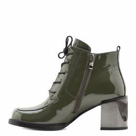 Ботинки осенние на каблуке - Фото №2