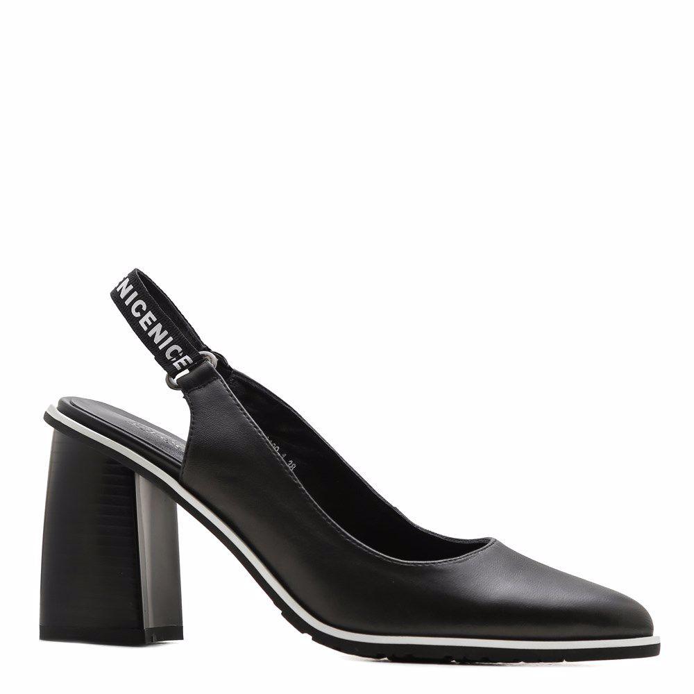 Купить Женская обувь, Босоножки на каблуке, Prego, черный