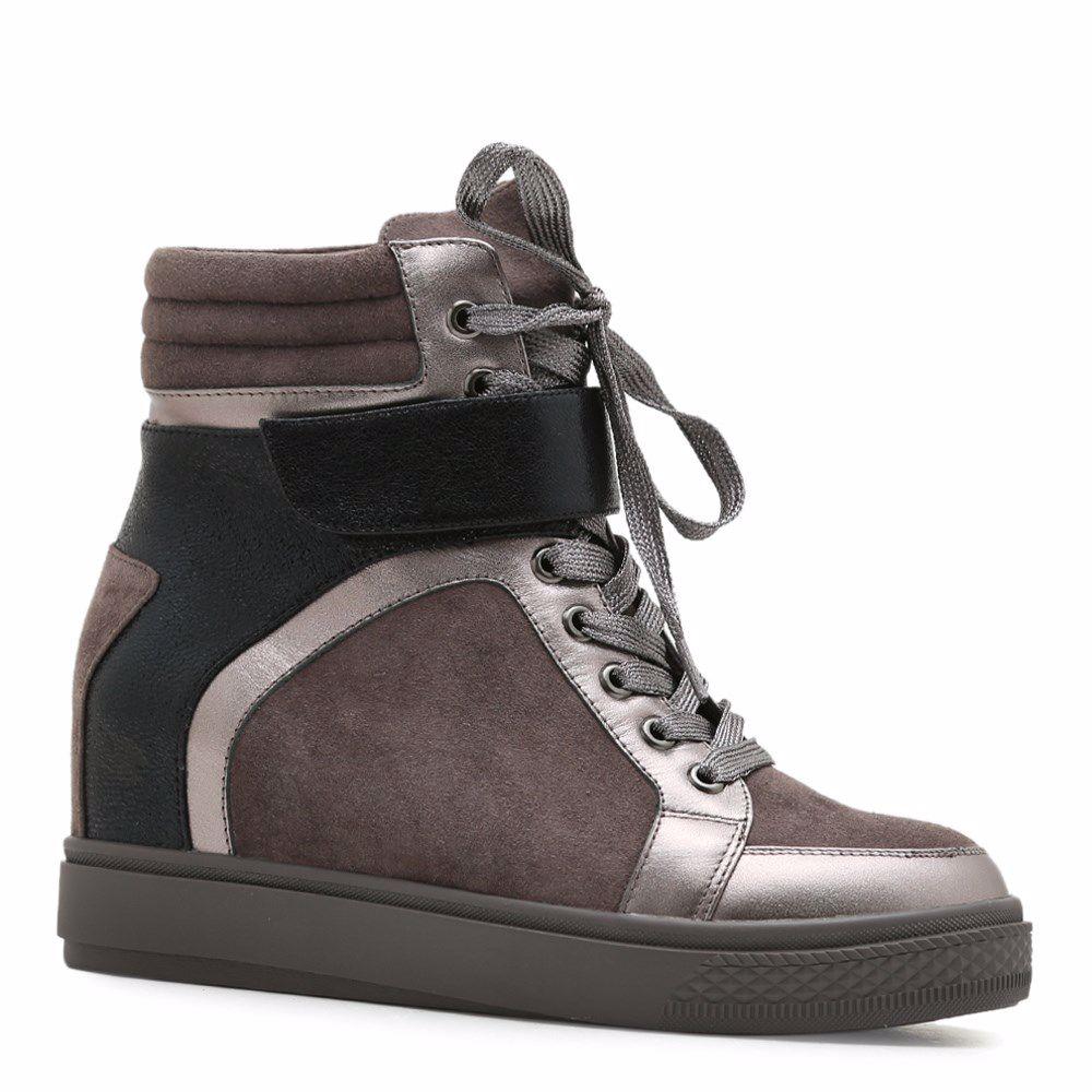 Купить Ботинки на платформе, Ботинки осенние на танкетке, Prego