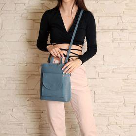 Рюкзак женский из натуральной кожи prego - Фото №6